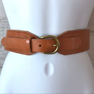 J. CREW Genuine Leather Boho Belt